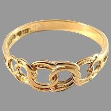 Svedboms, Sweden 1960s. Vintage 18k Gold Bismarck Ring.