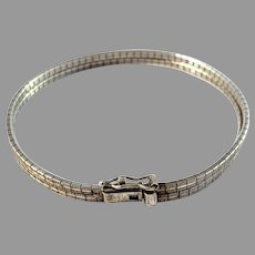 Vintage Mid Century 835 Silver Bracelet.