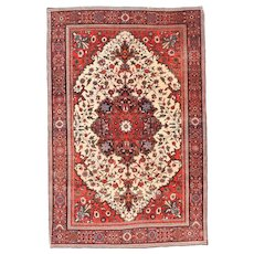 Antique Persian Farahan Sarouk