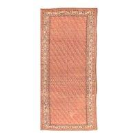 Antique Rust Malayer Persian Area Rug Wool Circa 1890, SIZE: 5'11'' x 13'4''
