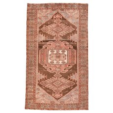 Fine Semi Antique Persian Hamedan Circa 1940, SIZE: 4'1'' x 7'1''