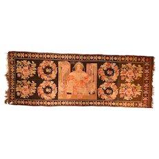 Fine Antique Bessarabian Kilim Circa 1900, SIZE: 5'2'' x 13'10''