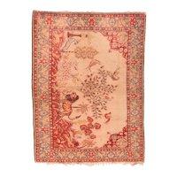 Semi Antique Persian Sivas Area Rug Wool Circa 1950, SIZE: 5'0'' x 7'3''