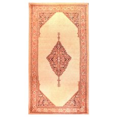 "Extremly Fine Antique Persian Rug Sarab, Hand Knotted, Circa 1890, Size 5'7"" x 10'11''"