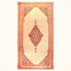 """Extremly Fine Antique Persian Rug Sarab, Hand Knotted, Circa 1890, Size 5'7"""" x 10'11''"""
