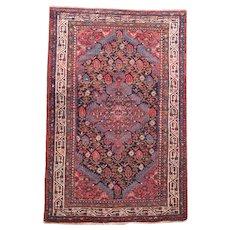 Fine Antique Persian Malayer Circa 1920, SIZE: 3'4'' x 5'0''