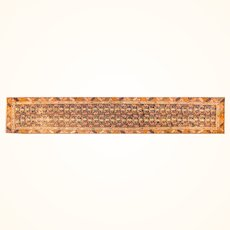 """Antique Rug Persian Runner North West Persia, Hand Knotted, Circa 1910, Size 2'11"""" x 13'7"""""""