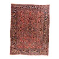 Fine Antique Persian Lilihan Rug Circa 1920, SIZE: 9'2'' x 12'0''