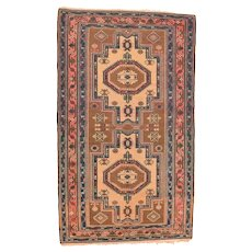 Fine Antique Shirvan Caucasian Rug Circa 1890, SIZE: 4'1'' x 6'9''