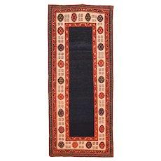 Antique Caucasian Talish Long Rug