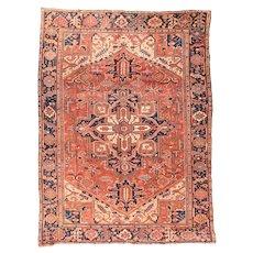 Fine Persian Heriz Rug Circa 1920, SIZE: 4'0'' x 11'3''