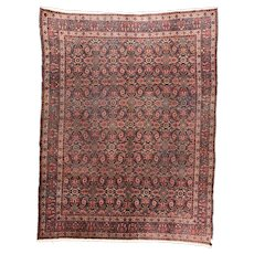 Extremely Fine Antique Turkish Sivas Circa 1890, SIZE: 9'4'' x 12'4''