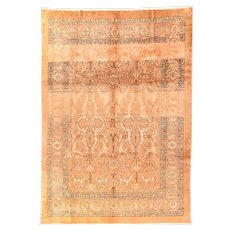 Antique Hand Knotted Persian Bakhshayesh Area Rug Wool Circa 1890, DESIGN: 8'5'' x 12'3''