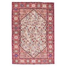 """Fine Semi Antique Quashkai Persian Rug, Hand Knotted,Circa 1930's, Size 4'3"""" x 6'5"""""""