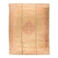 Hand Knotted Turkish Oushak Wool Circa 1920, SIZE: 11'11'' x 16'3''