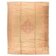 Hand Knotted Turkish Oushak Wool Circa 1920, SIZE: 11'11'' x 16'3''
