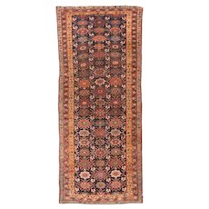 Fine Antique Persian Bidjar Wool on Wool Circa 1890, SIZE: 4'11'' x 10'3''