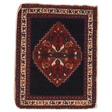 Antique Persian Afshar Tribal Mat Rug