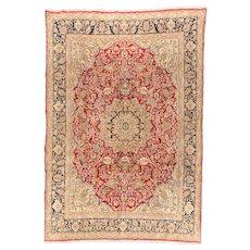 Fine Antique Persian Tabriz Rug Circa 1920, SIZE: 7'11'' x 11'3''