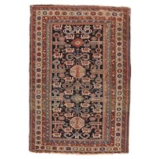 Fine Antique Turkish Oushak Rug Circa 1890, SIZE: 6'9'' x 10'0''
