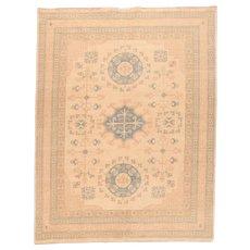 "Fine Khotan Design Pakistan Rug, Hand Knotted, Size 8' x 10'5"""