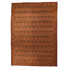 Hand Knotted Persian Tehran Zele Sultan Wool 1920, SIZE: 7'5'' x 10'2''
