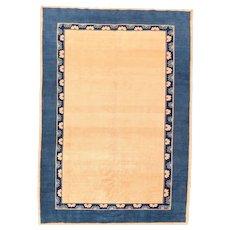 Fine Vintage Gabbeh Tribal Rug Circa 1950, SIZE: 6'5'' x 9'1''