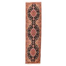Antique Salmon Lavar Kerman Persian Area Rug Wool Circa 1900, SIZE: 4'8'' x 7'3''