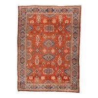 Beautiful Hand Knotted Persian Malayer Wool Circa 1900, SIZE 7'2'' x 10'0''