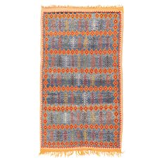 Fine Antique Moroccan Rug Circa 1920, SIZE: 4'8'' x 8'0''