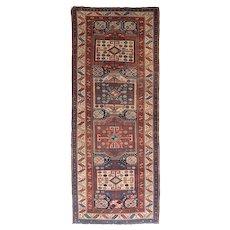 Antique East Caucasian Long Rug