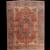 Antique Persian Farahan Area Rug Wool Circa 1900, SIZE: 8'6'' x 11'0''