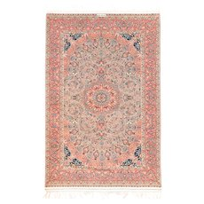 """Extremly Fine Persian  Rug Isfahan, Size 3'4"""" x 5'2"""""""