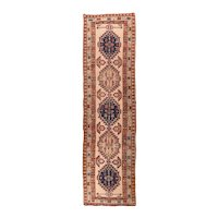 Excellent Persian Area Rug 100% Wool Circa 1920, SIZE: 3'0'' x 10'9''