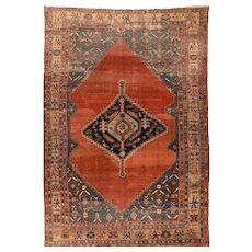 Antique Hand Made Bakhshaeish  Persian Rug