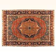 Antique Persian Bakhshayesh 9 X 13