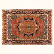 Antique Persian Bakhshayesh 9 X 13