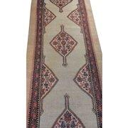 Antique Sarab Rug Size: 3.7 x 19.4