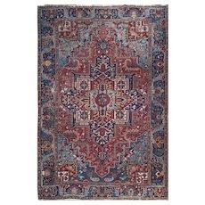 "Persian Rug Large Size Heriz 8'2""X11'5"" feet"