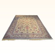 Antique Persian Isfahan Rug Size: 7.0 x 10.0