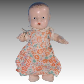 Composition Baby Doll, Drink + Wet Type, in Original Print Dress