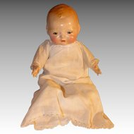 Century Composition Baby Doll, 1920s 15 Inch