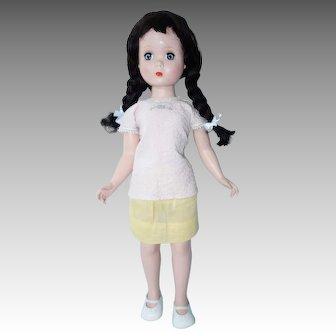 Alexander Maggie 20 Inch Hard Plastic Doll