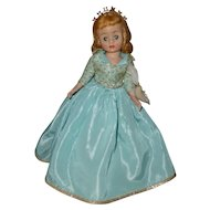 Sleeping Beauty, Alexander Cissette 1950s Disney Doll with Crown