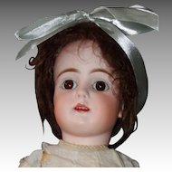 "Bahr & Proschild Bisque Head Mold 224 Doll 21"", Chunky Body"