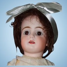 "Bahr & Proschild Bisque Head Mold 224 Doll 21"", Chunky Body"