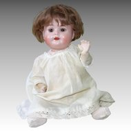 "Bisque German Baby Doll, Recknagel 86, 11"" on Composition Body"