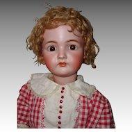 Kammer & Reinhardt 33 Inch Large German Bisque Doll