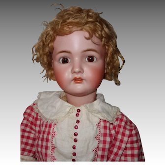Kammer & Reinhardt 33 Inch Large German Bisque Doll