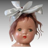 """Composition 15"""" Swing Leg Mama Doll in Original Outfit, 1930s"""